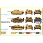 Sd.Kfz. 142 A StuG III  Fast Assm. 2 Stück  1:72