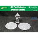 Fire Hydrant and Drainage Covers   1/35