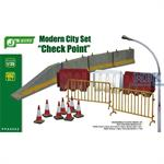 "Modern City Set ""Check Point"""