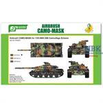 Airbrush CAMO-MASK AMX-30B
