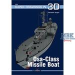 Kagero Super Drawings 3D Osa Class Missile Boat