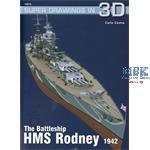 Kagero Super Draw. Battleship  HMS Rodney