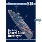 Kagero Super Drawings Soviet Skoryi Class Destroye