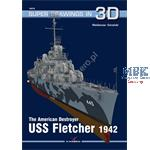 Kagero Super Drawings in 3D USS Fletcher 1942