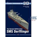 Kagero Super Drawings 3D SMS Derfflinger