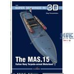 Kagero Super Drawings 3D MAS-15 Itla. Motorboot