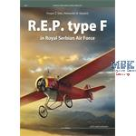 Kagero famous Airplanes R.E.P Type F Royal Serbian