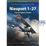 Kagero famous Airplanes Nieuport 1-27 French Fight
