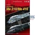 Kagero Top Drawings 113 Messerschmitt Me 210/410
