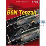 Kagero Top Drawings 118 B6N Tenzan