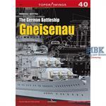 Kagero Top Drawings 40 German Battleship Gneisenau