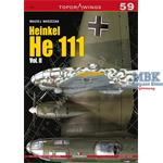 Kagero Top Draw. 59 Heinkel He 111 Vol. II