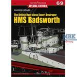 Kagero Top Dra.69 British Hunt Class HMS Badsworth