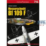 Kagero Top Drawings 76 Messerschmidt Bf109 F