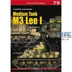 Kagero Top Drawings 79 Medium Tank M3 Lee I
