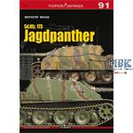 Kagero Top Drawings 91: Sd Kfz 173 Jagdpanther