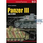 Kagero Top Drawings 93 Panzer III Ausf. J L M K