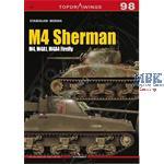 Kagero Top Drawings 98            M4 Sherman