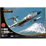 F-104J/ F104DJ Starfighter J.A.S.D.F. (2 in 1)