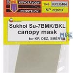 Su-7BMK/BKL canopy mask