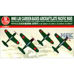 WWII IJN Carrie Aircraft (Late Pacific War) 1:700