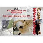 Leopard 2 mantlet plugs