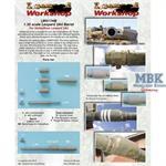 Leopard 2A4 Gun Barrel (for Hobby Boss)