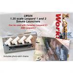 Leopard 1 & 2 Smoke Launchers (2 bolt)