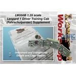 Leo 1 Driver Training Cab (Fahrschulpanzer) add-on