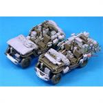 Willys Jeep Stowage Set (2 Vehicles) w/ BC1306