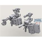 Mk. 19 40mm AGL on Bearing Sleeve Mount Set  2x