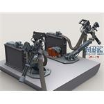 M134D on EC725 Gun Mount w/3000rd Ammo Box Set