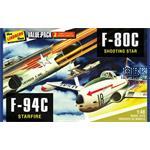 F-80C Shooting Star + F-84C Starfire Value Pack