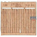 Holzzaun / Wooden fence Type 11   1/35