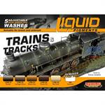 Weathering Set Trains and Tracks 6x22ml