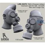PMG-2 Russian military Gasmask w/  Forage Cap