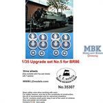 Baureihe BR 86 upgrade set #5