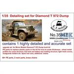 Detailing set for Diamond T972 Dump Truck