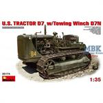 U.S. TRACTOR D7 w/TOWING WINCH