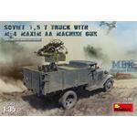 Soviet 1.5t truck w/M-4 Maxim AA MG