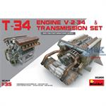T-34 Engine V-2-34 & Transmission Set