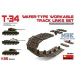 T-34 wafer-type workable track links set
