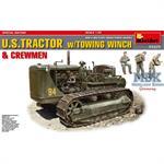 U.S. Tractor w/Towing Winch & Crewmen