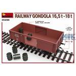 Railway Gondola 16,5-18 t