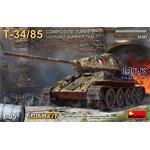 T-34/85 Composite Turret. 112 Plant *Interior Kit*