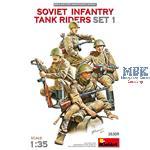 Soviet Infantry Tankriders Set 1