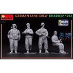 German Tank Crew.Kharkov 1943. Resin Heads