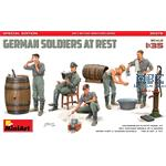 German Soldiers at Rest. Special Edition