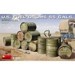 U.S. FUEL DRUMS 55 GALS.