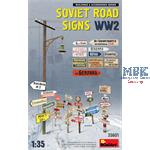 Soviet Road Signs WW2